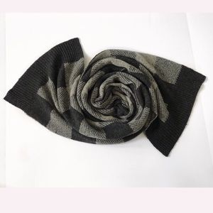 Gap scarf man woman lamb wool blend